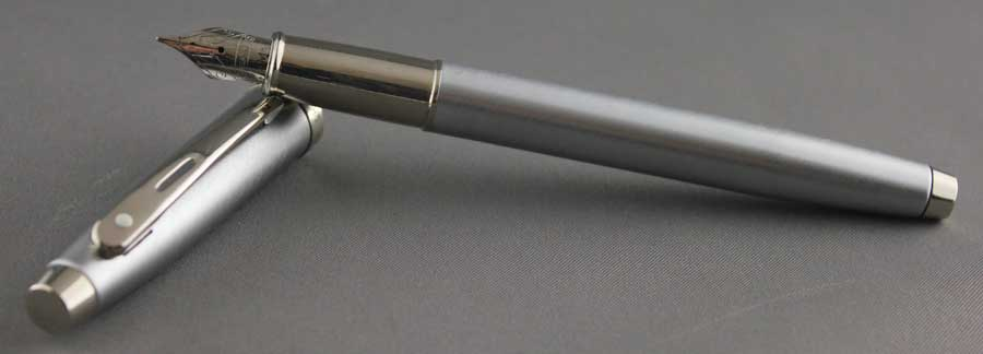 My Sheaffer 100 in Brushed Chrome