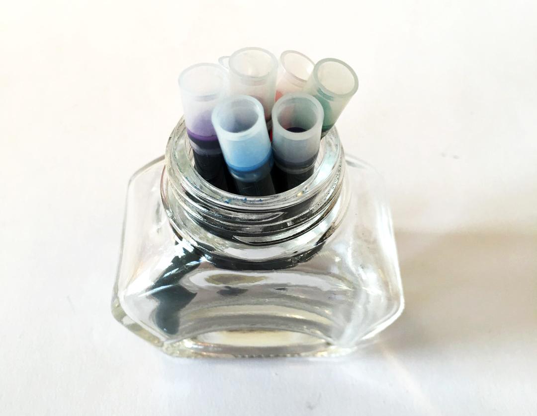Empty Ink Bottle Ideas