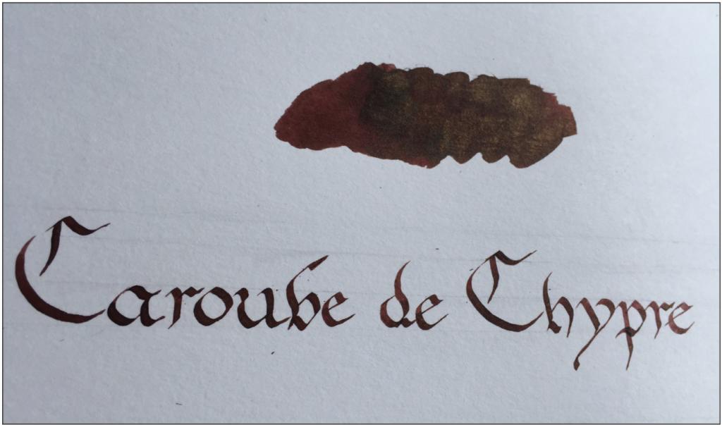 J Herbin 1670 Caroube de Chypre