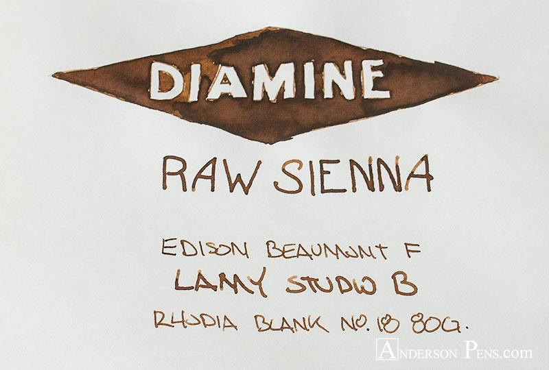 thINKthursday Diamine Raw Sienna