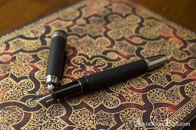 Montblanc Meisterstuck Ultra Black Classique Fountain Pen