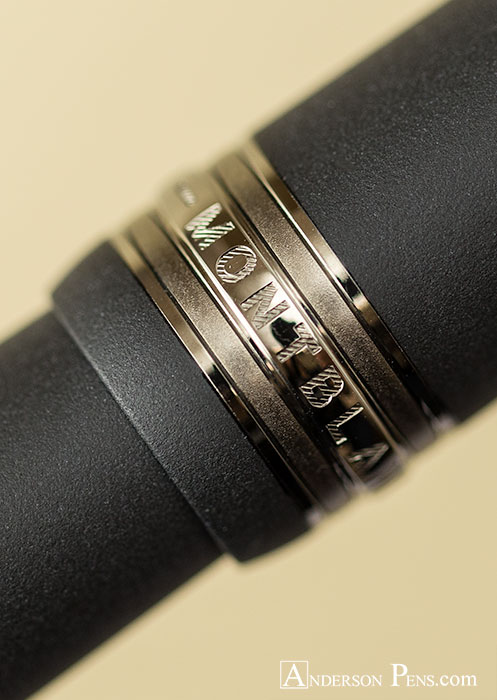 Montblanc Meisterstuck Ultra Black LeGrand Fountain Pen