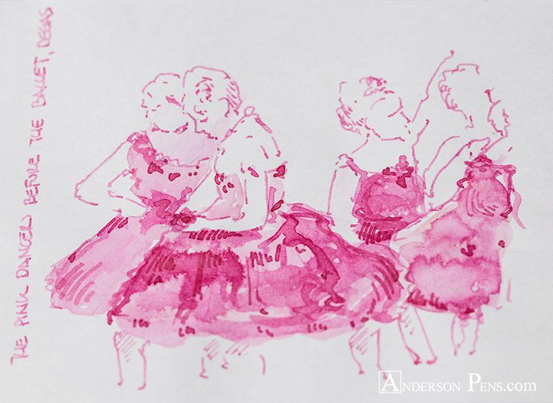 Sailor Storia Dancer Pink