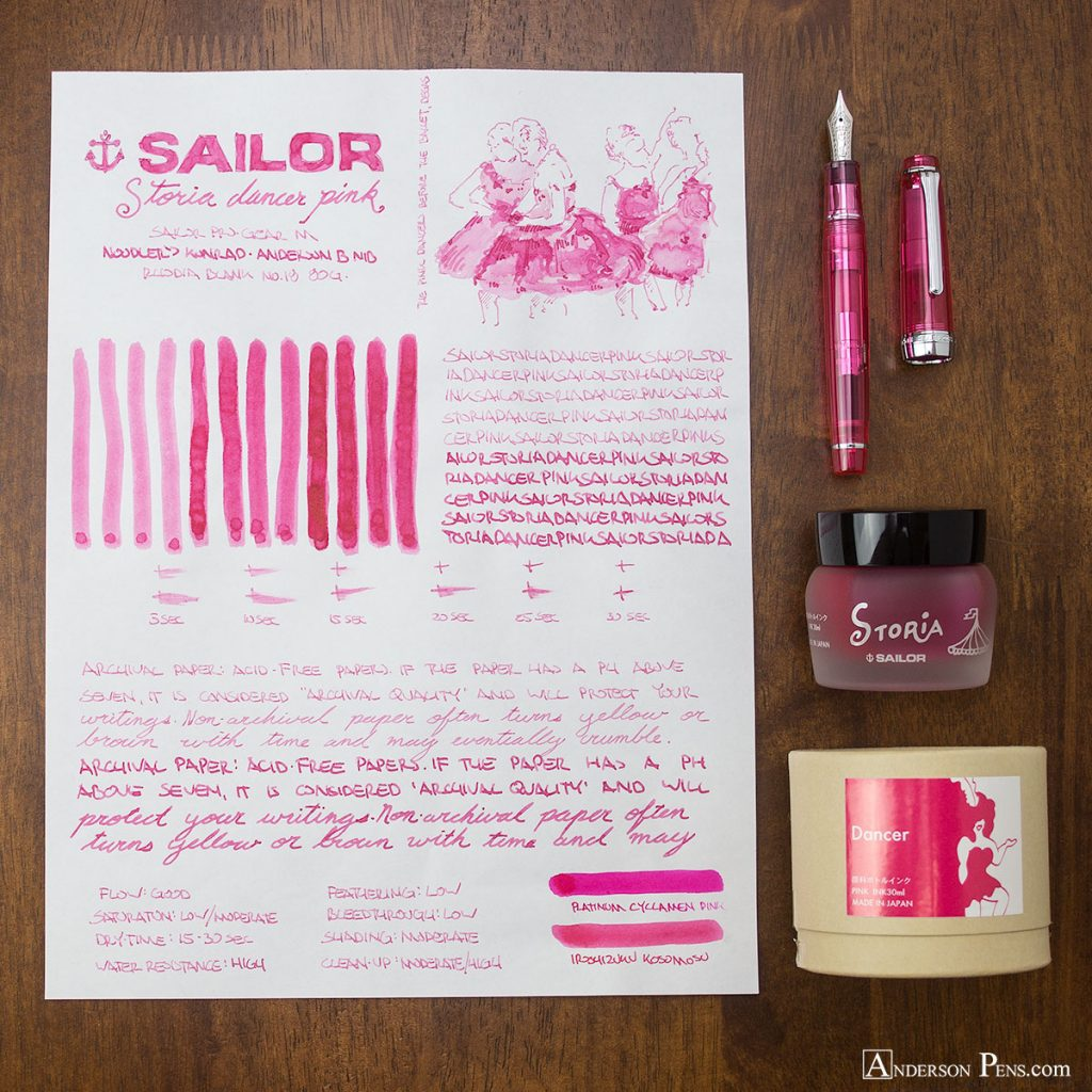 Sailor Storia Dancer Pink