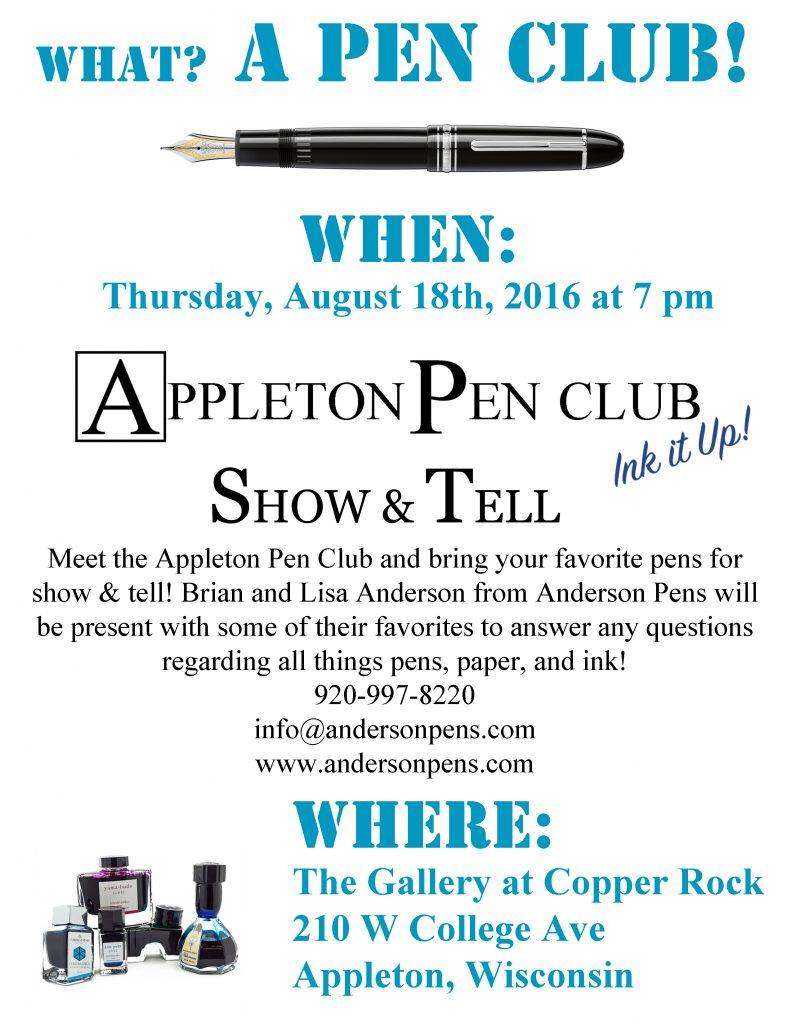 Appleton Pen Club