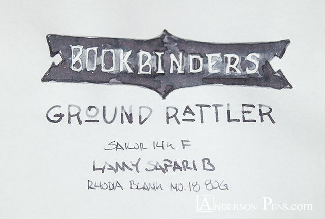 Bookbinders Ground Rattler