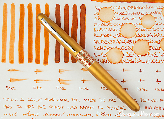 thINKthursday - Kaweco Sunrise Orange