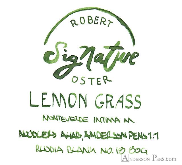 thINKthursday - Robert Oster Lemon Grass