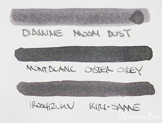 thINKthursday - Diamine Moon Dust Shimmertastic