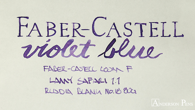 thINKthursday - Faber-Castell Violet Blue