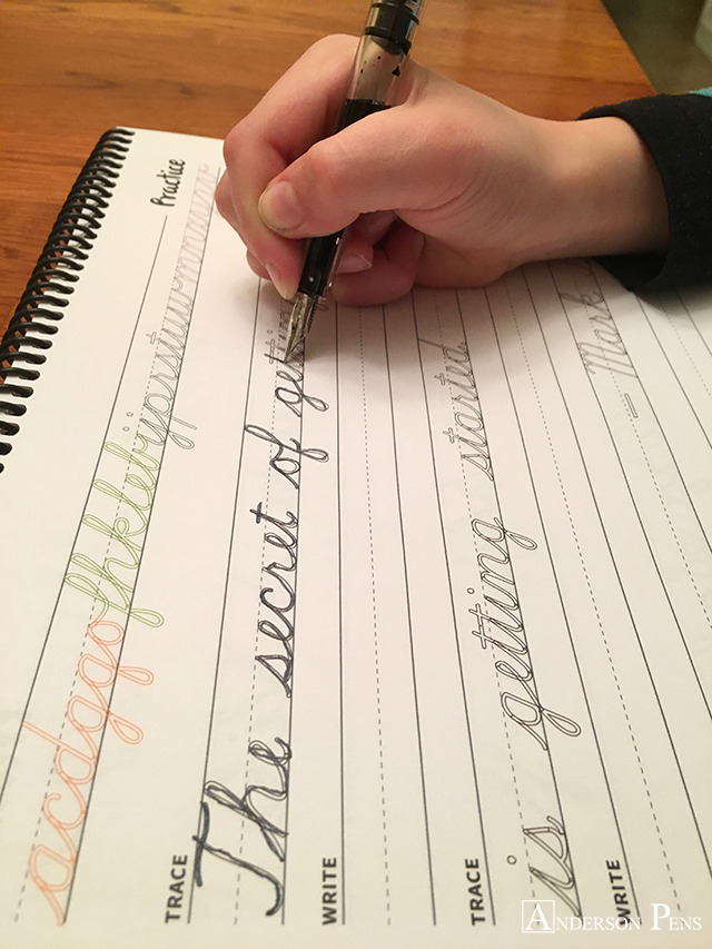 Learning to write in cursive is an important skill