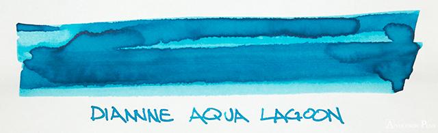Diamine Aqua Lagoon Ink Swab