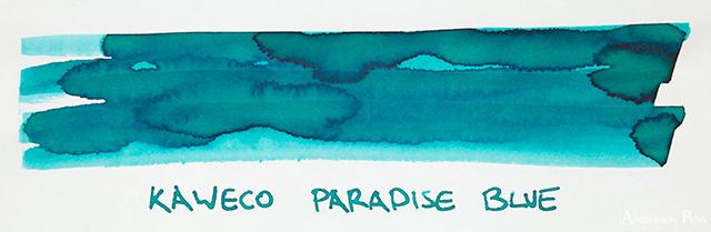 Kaweco Paradise Blue Ink Swab