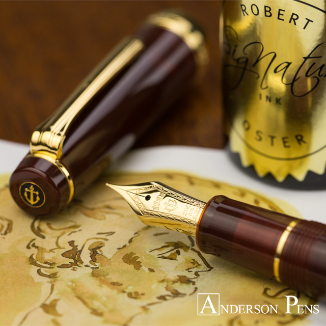thINKthursday - Robert Oster Gold Antiqua