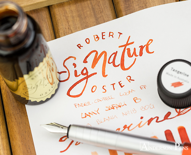 thINKthursday - Robert Oster Tangerine
