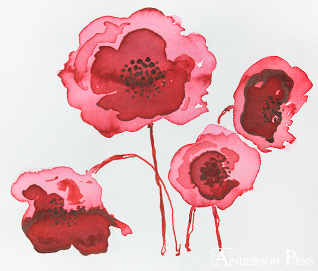 thINKthursday - Montblanc Corn Poppy Red