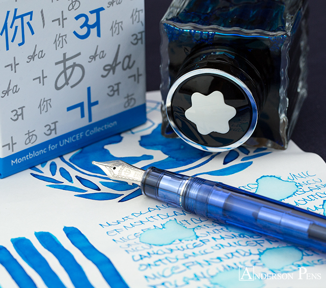 thINKthursday - Montblanc UNICEF Blue