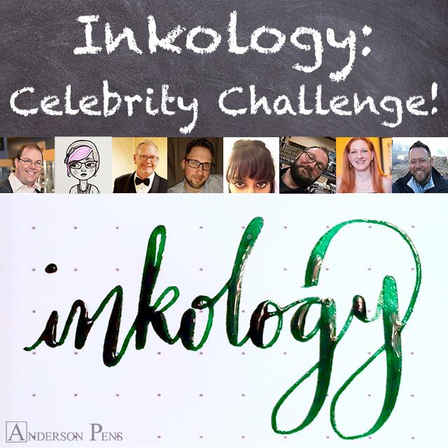 Inkology Celebrity Challenge