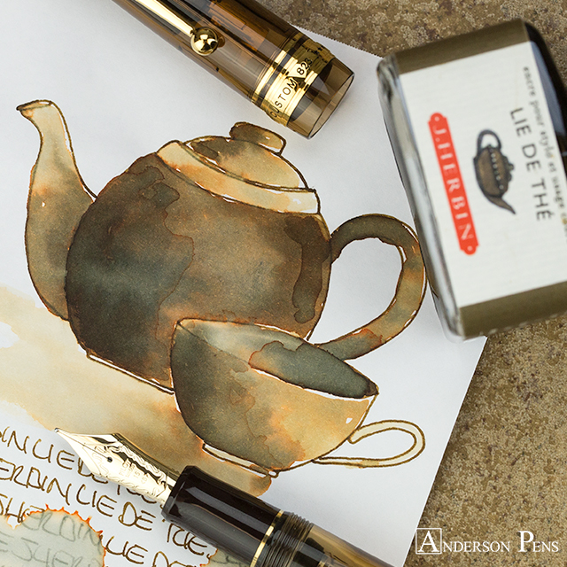 thINKthursday - J Herbin Lie de The