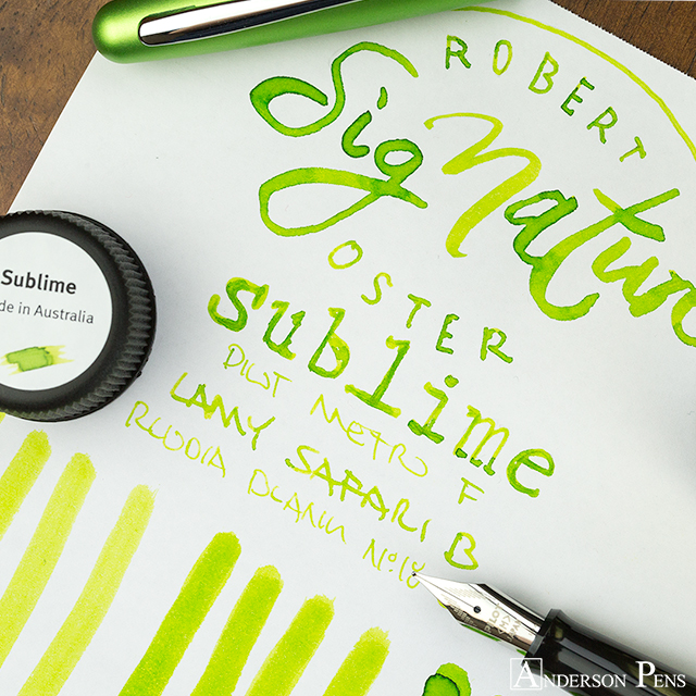thINKthursday - Robert Oster Sublime