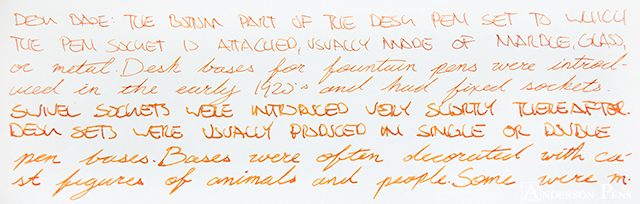 thINKthursday - Robert Oster Red Orange