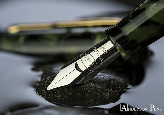 #wtf Conklin Vintage Green Crescent