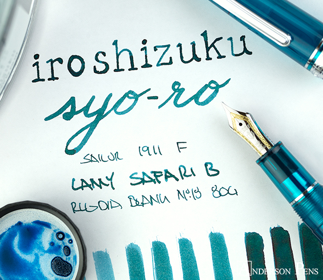 thINKthursday - iroshizuku syo-ro