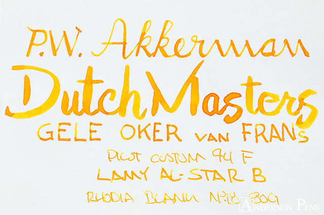 thINKthursday - Akkerman Dutch Masters Gele Oker van Frans