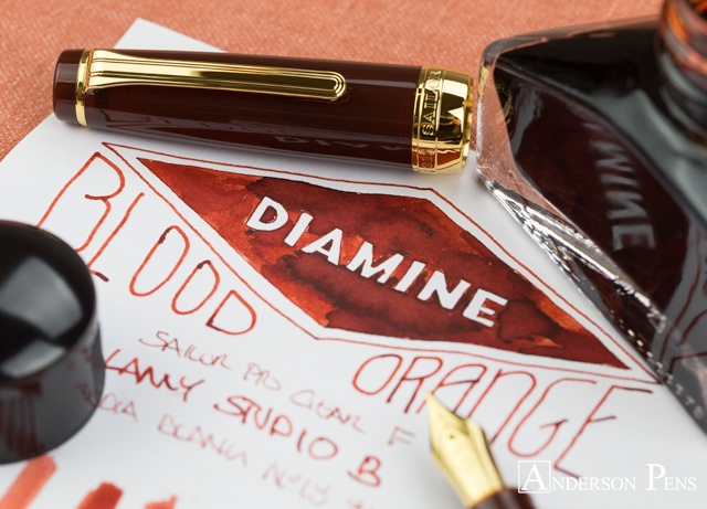 thINKthursday - Diamine Blood Orange