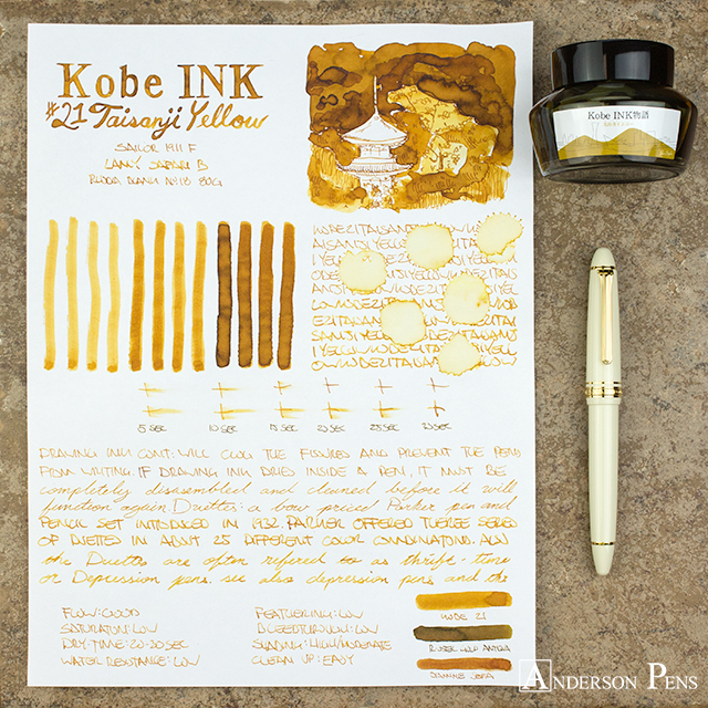 thINKthursday - Kobe #21 Taisanji Yellow