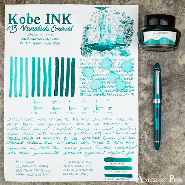 thINKthursday - Kobe #13 Nunobiki Emerald