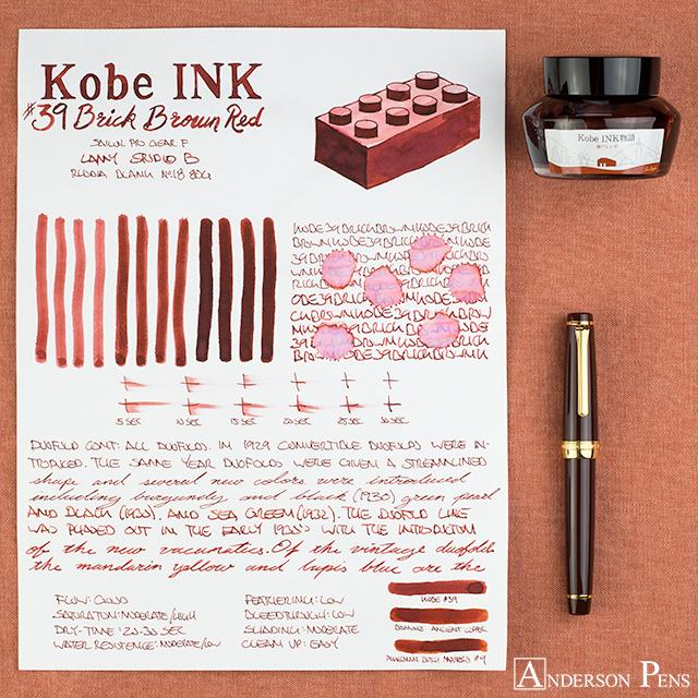 thINKthursday - Kobe #39 Brick Brown Red