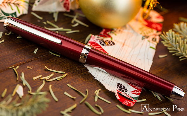 Pilot Metal Falcon in Burgundy