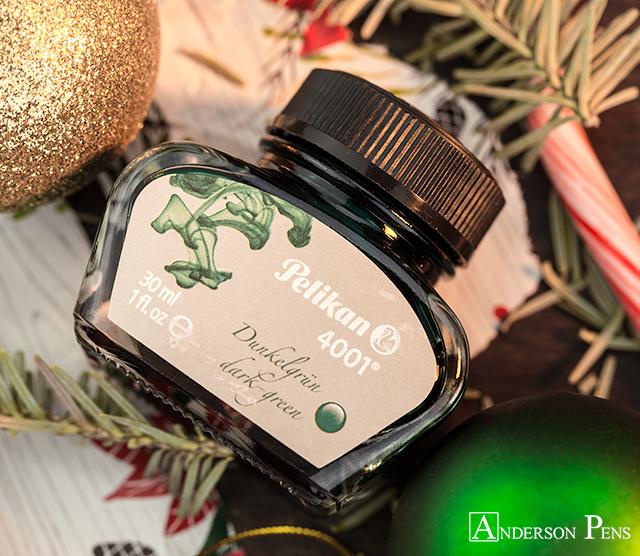 Pelikan 4001 Dark green Ink