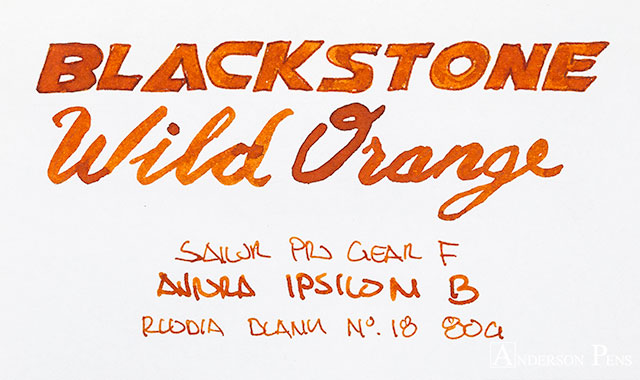 thINKthursday - Blackstone Wild Orange