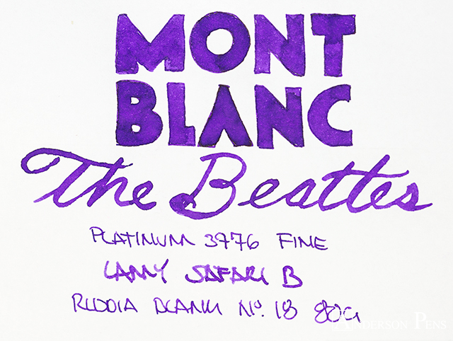 thINKthursday - Montblanc The Beatles