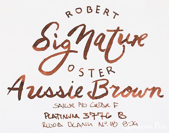 thINKthursday Robert Oster Aussie Brown