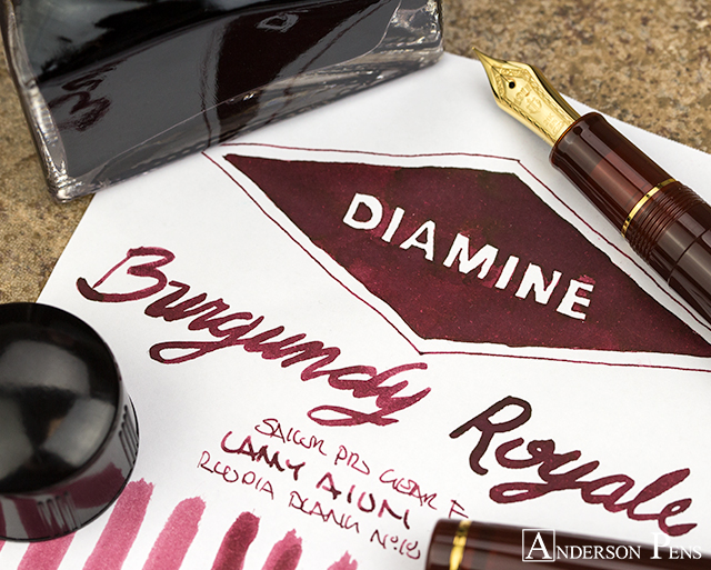 thINKthursday Diamine Burgundy Royale
