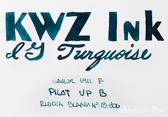 thINKthursday KWZ Iron Gall Turquoise