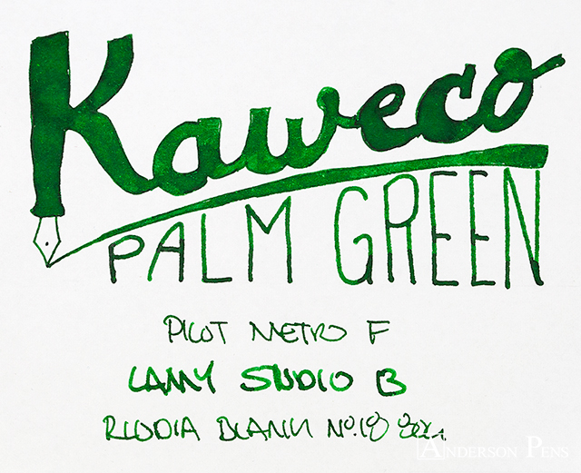 thINKthursday Kaweco Palm Green