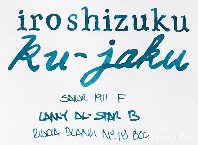 thINKthursday Iroshizuku Ku-Jaku