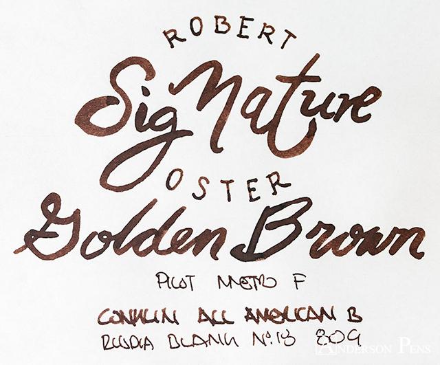 Robert Oster Golden Brown thINKthursday