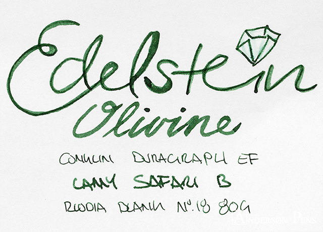 thINK Thurday Edelstein Olivine