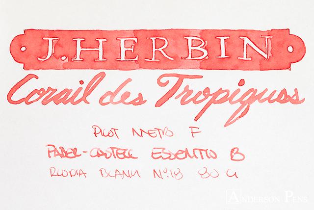 thINKthursday - J Herbin Corail des Tropiques
