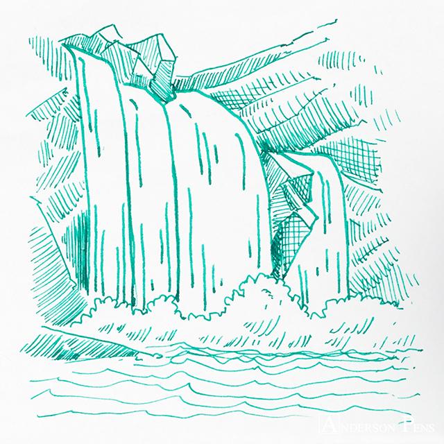 thINKthursday - Kobe #47 Aotani Cascade Fountain Pen Ink