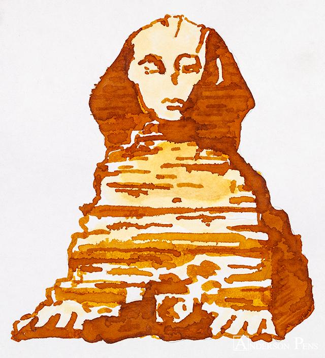 thINKthursday - J Herbin Cornaline d'Egypte