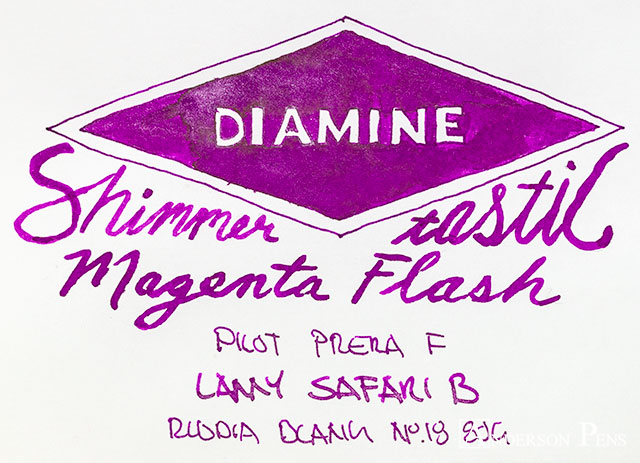 thINKthursday Diamine Magenta Flash