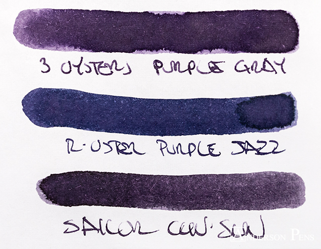 thINKthursday - 3 Oysters Purple Gray
