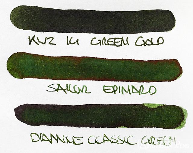 thINKthursday - KWZ Iron Gall Green Gold