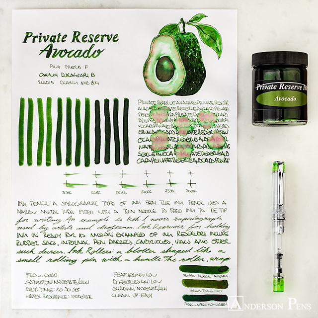 thINKthursday - Private Reserve Avocado